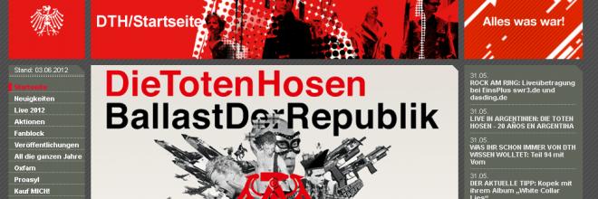 Startseite dietotenhosen.de