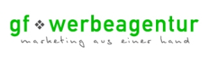 Logo gf werbeagentur